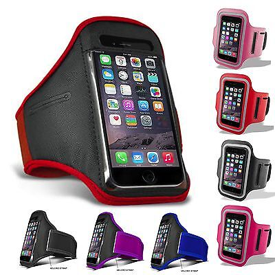 For IPhone 5C 5S SE 6 6S 7 8 11 12 XS XR Sports Running Jogging Gym Armband Case • 3.69£