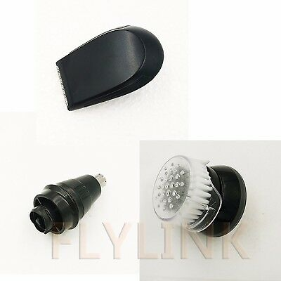 $ CDN18.73 • Buy Replacement Nose Trimmer Head+Cleansing Brush+Trimmer For Philips RQ11 RQ32 RQ12