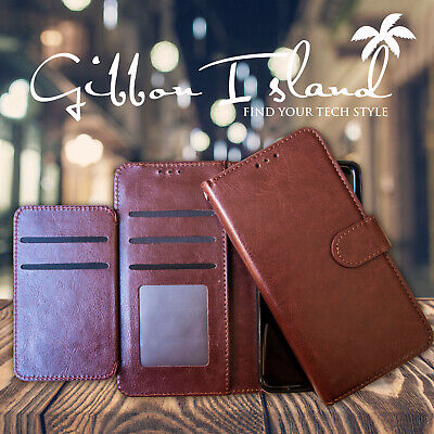 AU39.95 • Buy Iphone 7 Leather Wallet Case - 6 Card Holder With Glass Screen Protector