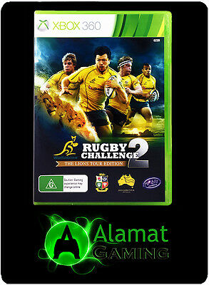 AU25.91 • Buy Wallabies Rugby Challenge 2: The Lions Tour (Xbox 360) VGC - Fast Free Post