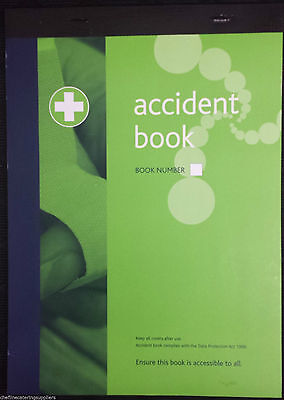 £4.95 • Buy Accident Report Book Hse Approved ,school, Office, Factory, Garage, Nursery,
