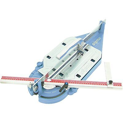 DTA SIGMA MANUAL TILE CUTTER 630mm W/ Double Tile Thickness Cutting Adjustments • 617.45£