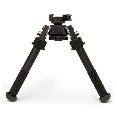 Accushot Atlas Bipod - Lever With ADM 170-S Lever, Height 4.75 - 9.0 , Black • 279.95$