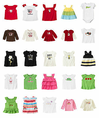 $12.90 • Buy NWT Gymboree Baby Toddler Girl TEES TOPS Options #1 ( 5 Or More Ships Free)