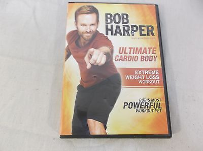 ULTIMATE CARDIO BODY Exercise DVD Weight Loss 2 Workouts Bob Harper 100248 • 9.12£