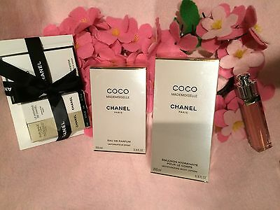 Chanel Coco Mademoiselle Parfum 100ml  And Body Lotion 100ml  +gifts Set Sale  • 238$