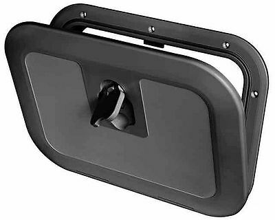 £29.95 • Buy Boat Deck Inspection Access Hatch Black 380 X 280mm 180 Degree Opening Fishing