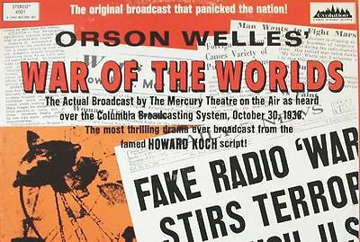 £2.99 • Buy Orson Welles - War Of The Worlds - Radio Broadcast 1938  On One Audio Cd