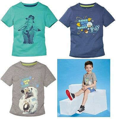 Boys Boy Kids T-shirt Ice Age Size: 2 3 4 5 6 7 8 Years   • 4.99£