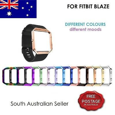 AU4.90 • Buy For FITBIT BLAZE Stainless Steel Metal Frame Cover FITBIT BLAZE SA & AU SELLER