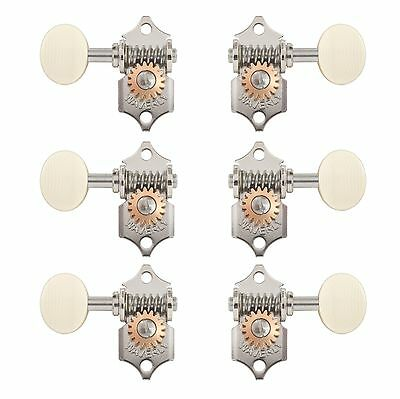 $ CDN245.99 • Buy Waverly Guitar Tuners With Ivoroid Knobs, For Solid Pegheads, Nickel, 3L/3R