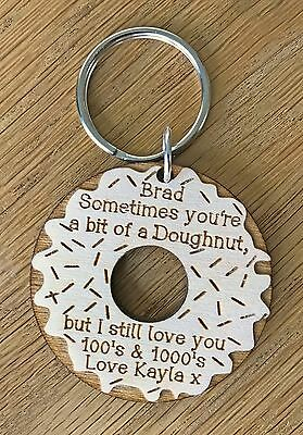 AU10.73 • Buy Personalised Valentines Day Gifts For Him Her Boyfriend Funny Love Keyring Gifts