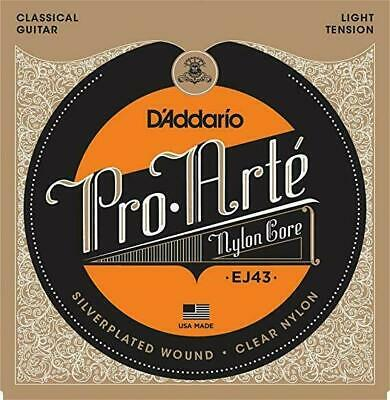 $ CDN26.72 • Buy D'Addario EJ43 Pro-Arte Classical Guitar Strings - Light Tension Nylon Core