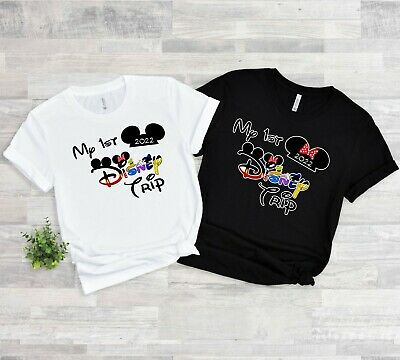 $10.99 • Buy 2020 DISNEY FAMILY VACATION My First Trip T-SHIRTS ALL SIZES MINNIE, MICKEY Ears