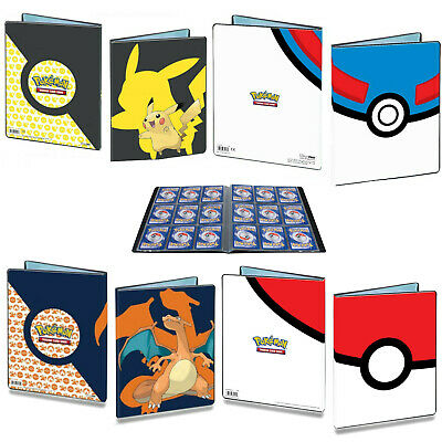 Genuine Ultra Pro Pokemon Trading Card Folders Albums Portfolios Pokeball • 13.95£