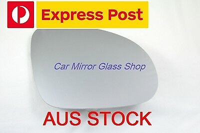 AU16.99 • Buy Right Driver Side Vw Golf Mk5 2004-2008 Mirror Glass With Heated Back Plate