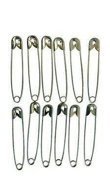 £2.49 • Buy Safety Pins Ideal Running Cycling & Other Sports Events Nappy Pins 50pc 55mm