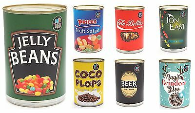 £4.95 • Buy CANDY TREATS - Novelty Spoof Branded Tinned Sweets Jelly Beans Cola Bottles Etc