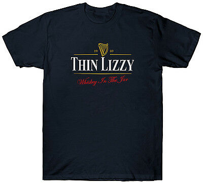 $ CDN22.33 • Buy Thin Lizzy Guinness T Shirt Funny Retro Vintage Top