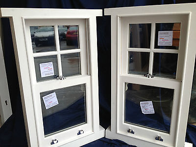 Double Glazed! Traditional Sliding Box Sash Windows! Made To Measure! Bespoke!! • 580£