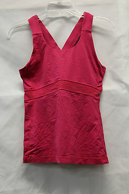 $ CDN32.17 • Buy Lululemon Womens Pink Racerback Thick Strap Tank Top Size 8 Great Used Condition
