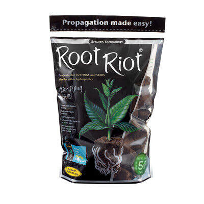 £16.99 • Buy Root Riot 50 Pack Propagation Cubes