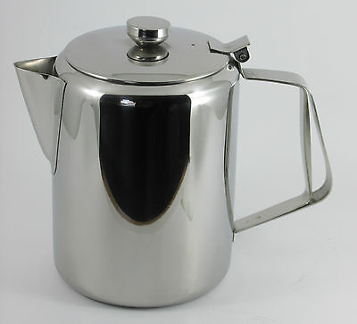 £16.45 • Buy Coffee Pot Stainless Steel 70oz Restaurant Cafe Tea Hot Water Pot Catering