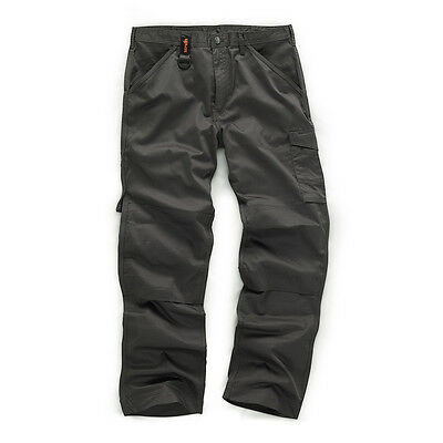 Scruffs WORKER Graphite Grey Multi Pocket Work Trousers (All Sizes) Trade • 19.95£