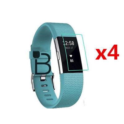 $ CDN2.52 • Buy 4 PCS Ultra-thin HD Screen Protector Cover Guard Flim For FitBit Charge 2