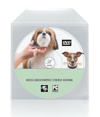 £2.99 • Buy Dog Grooming Video DVD Guide Easy To Follow Expert Tuition Clipping Bathing New