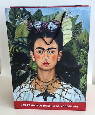 $17.99 • Buy Frida Kahlo Shopping Bag From SFMOMA San Francisco Museum Of Modern Art 2007