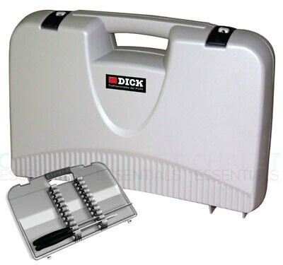 AU124.80 • Buy New F Dick FDick Lockable Knife Carry Case Safe Chef Cook  - GREY