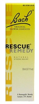 Bach Rescue Remedy Drops - 10ml Or 20ml • 7.50£