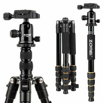 AU79.99 • Buy Zomei Q666 Camera Tripod Stable Monopod Ball Head For Travel Digital Camera DSLR
