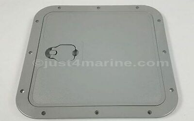 £29.95 • Buy Marine Deck Inspection Access Hatch Grey 375 X 375mm Removable Lid