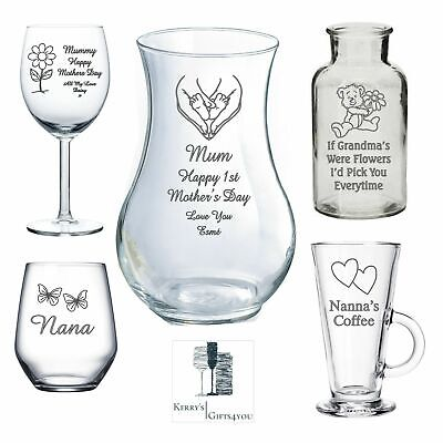 Personalised Birthday 18th 21st 30th 60th - VALENTINES Gifts FOR HER Mum Wife • 9.75£