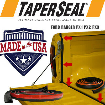 AU39.90 • Buy Ford Ranger Px Px2 Px3 Rubber Ute Dust Tail Gate Tailgate Seal Kit