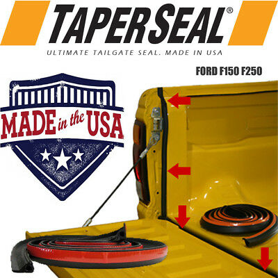 AU39.90 • Buy Ford F150 F250 F350 Rubber Ute Dust Tail Gate Tailgate Seal Kit Made In Usa