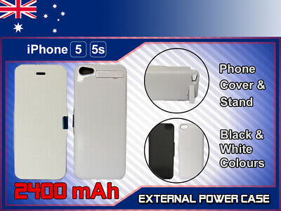 AU19.99 • Buy JLW Power Bank Charger Battery Case For Apple IPhone SE 5 5S