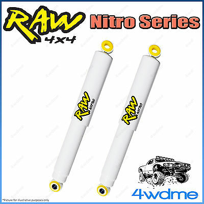 AU210 • Buy Mitsubishi Triton ML MN 4WD RAW Rear Nitro Gas Shock Absorbers 2  0-40mm Lift