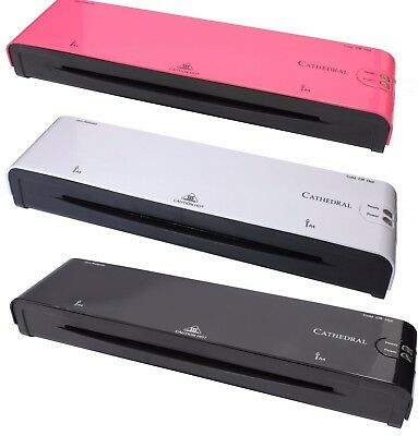 £21.65 • Buy A4 Laminators / A3 Laminators In Black/White Or Pink -A4 And A3 Pouches