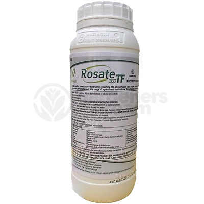 View Details Rosate 360 TF Glyphosate Weedkiller - 1 X 1 Litre Strong Professional Herbicide • 10.99£