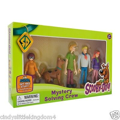 £15.49 • Buy  Scooby Doo Mystery Solving Crew 5 Articulated Action Figures
