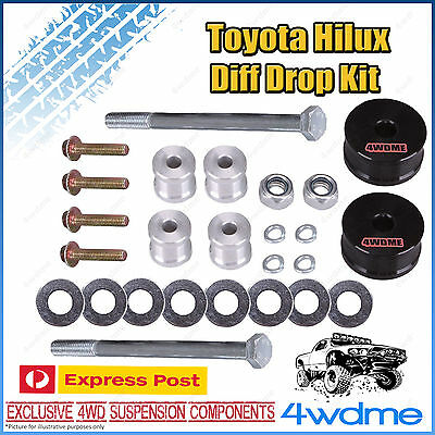 AU125 • Buy Fits Toyota Hilux N70 KUN26 Front Direct Bolt In Diff Drop Kit STD 2  3  Lift
