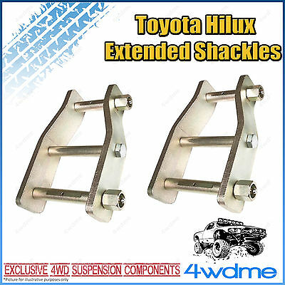AU130 • Buy Fits Toyota Hilux N70 KUN26 4WD Ute Extended Shackles 2  Lift Kit 2005-15