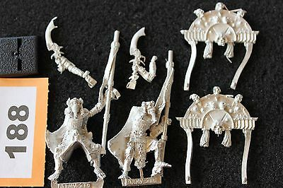 Games Workshop Warhammer Tomb Kings Army Standard Metal Figure Set Fantasy OOP • 59.99£