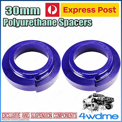 AU85 • Buy Pair Fits Toyota Landcruiser VDJ79 Series Front 30mm Coil Spring Poly Spacers