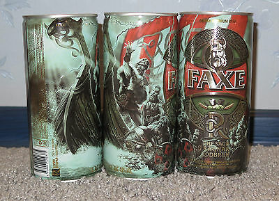 $ CDN11.73 • Buy Rare Beer Can  Faxe , Rus, Limited Edition, Ragnar Part Ii 1l