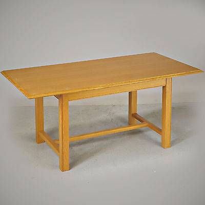 Refectory Dining Table - Oak, Shaker, Marks & Spencer (delivery Available) • 150£