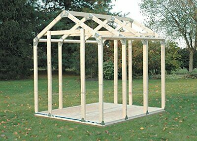 Build Your Own 2x4 Basics Any Size Peak Roof Shed Kit 2x4  - 90192mie • 79.99£